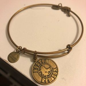 Alex and Ani Boston Red Sox gold Bangle